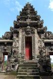 Omkring en av de hinduiska templen för mest härlig Balinese, Pura Ke Arkivfoton