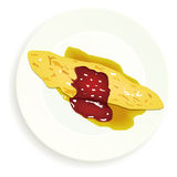 omlet Zdjęcie Stock