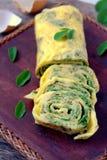 Omlet Jajeczne rolki Zdjęcie Royalty Free