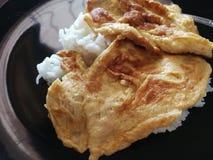 Omlet na ryż zdjęcie royalty free