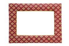 Omlijsting die van geïsoleerdee stof wordt gemaakt Royalty-vrije Stock Fotografie
