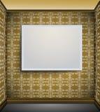 Omlijsting op de muur Royalty-vrije Stock Foto's