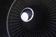 747 omloopmotor Royalty-vrije Stock Afbeeldingen