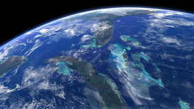 omlopp för jord 3d Arkivfoton