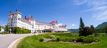 Omni Mount Washington Resort. One of the Grand Hotels in New Hampshires's White Mountains Region, the Omni Mount Washington Resort. Bretton Woods, NH royalty free stock photography