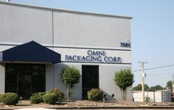 Omni Packaging Corporation Fotografie Stock Libere da Diritti