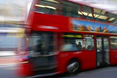 Omnibus 1 de Londres Imagenes de archivo