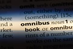 omnibus photo stock
