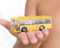 Omnibus amarillo Imagenes de archivo