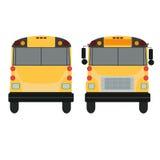 Omnibus amarillo Foto de archivo libre de regalías
