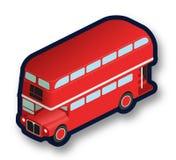 Omnibus de apilador doble de Londres Foto de archivo libre de regalías