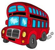 Omnibus de autobús de dos pisos Foto de archivo libre de regalías