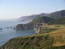 Omnibus de Côte Pacifique, grand Sur, la Californie Photographie stock libre de droits
