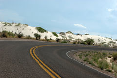 Omnibus de désert image libre de droits