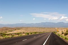 Omnibus de désert Images libres de droits