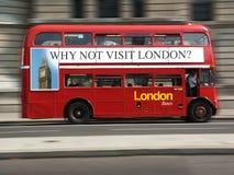 Omnibus de Londres Foto de archivo