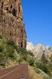 Omnibus de Mt Carmel dans Zion Image stock