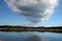Omnibus de nuage Images libres de droits