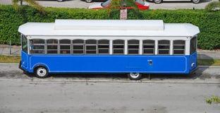 Omnibus de visita turístico de excursión en la Florida accionada por el bio diesel Imagen de archivo libre de regalías