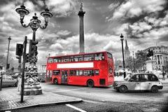 Omnibus en Londres Foto de archivo libre de regalías