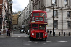 Omnibus en Londres Imagen de archivo