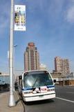 Omnibus en Manhattan Fotografía de archivo libre de regalías