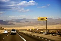 Omnibus Etats-Unis du Nevada photo libre de droits