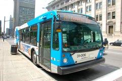 Omnibus expreso de Montreal Fotografía de archivo libre de regalías