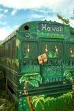 Omnibus Hawaii Fotografía de archivo libre de regalías