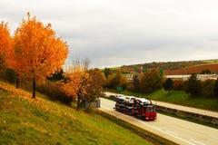 Omnibus - République Tchèque Photographie stock libre de droits