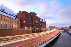 Omnibus Suède de Stockholm images stock