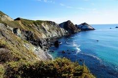 Omnibus Sur de Côte Pacifique Images libres de droits