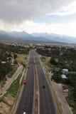 Omnibus vers Almaty images stock