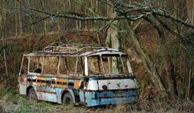 Omnibus viejo Imágenes de archivo libres de regalías