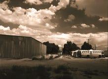 Omnibuses viejos imagenes de archivo