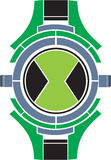 Omnitrix. Ben 10 omnitrix or the watch of ben tenyson from the catoon show ben 10 Royalty Free Stock Photos