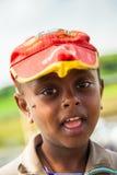 OMO的人们,埃塞俄比亚 库存照片