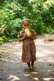 OMO的人们,埃塞俄比亚 图库摄影