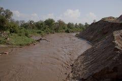 Omo flod fotografering för bildbyråer