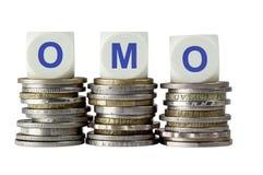 OMO - Open Market Operation Royalty Free Stock Photos