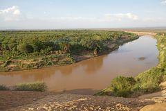 Omo River Stock Images