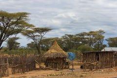 Omo Tal-Stadt, Äthiopien Lizenzfreie Stockfotografie