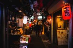 Free Omoide Yokocho, Shinjuku Tokyo In Spring Season , Decorated With Stock Photo - 114646460