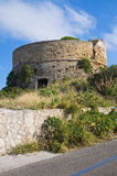 Omomorto tower. Santa Maria di Leuca. Puglia. Italy. Stock Photography