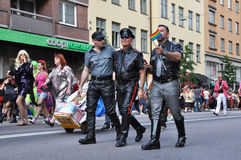 Omosessuale in cuoio Fotografia Stock Libera da Diritti