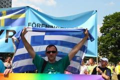 Omosessuale greco immagini stock