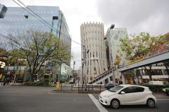 Omote Sando hill is a mall famous Stock Image