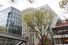 Omote Sando hill is a mall famous Royalty Free Stock Photos