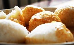 Omotuo - alimento ghanian de domingo Imagens de Stock