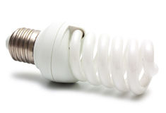 Сompact fluorescent lamp (CFL) Stock Photos